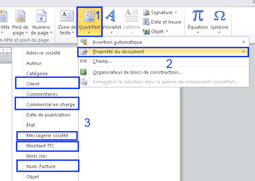 Association des propri t s entre sharepoint 2007 2010 et les documents word au format open xml - Ouvrir un document word avec open office ...