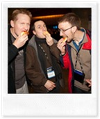 MVP Bing Maps John O'Brien, Nicolas Boonaert, Alastair Aitchinson - at Safeco Field - 'How many Space Needles is that?'