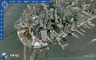 Plugin 3D Bing Maps Virtual Earth 3D