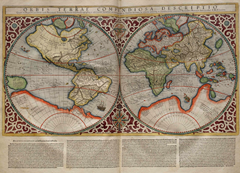 Projection Mercator 1569