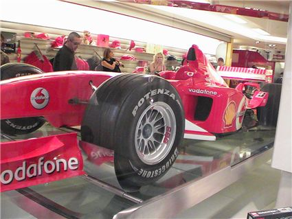 Magasin Ferrari (suite)