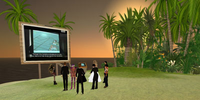 Imagine Cup dans Second Life